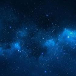 "Blue Nebula 36"" x 36"""