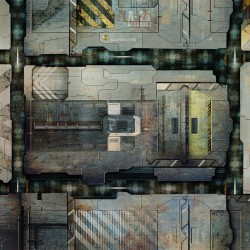 """Space Station Deck 36"""" x 36"""""""