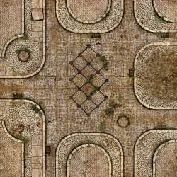 "Gates of Menoth 36"" x 36"""