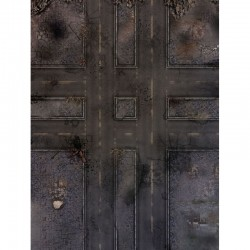 """Ruined Streets 48"""" x 36"""""""