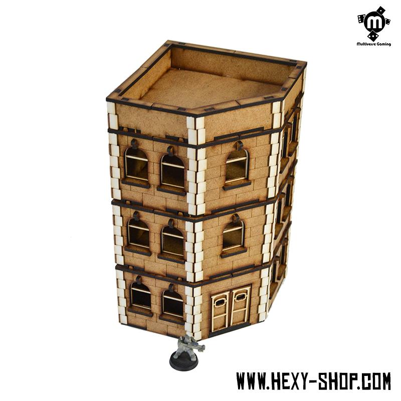 Apartment Store: Corner Apartment Building