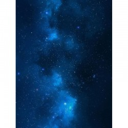 "Blue Nebula 44"" x 60"""
