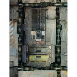 "Space Station Deck 44"" x 60"""