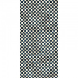 "Checkered Tiles 44"" x 90"""