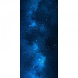 "Blue Nebula 44"" x 90"""