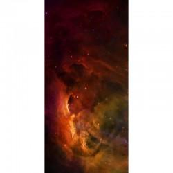 """Red Nebula 44"""" x 90"""""""