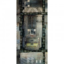 "Space Station Deck 44"" x 90"""
