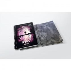 A3 RPG book - hexagonal grid