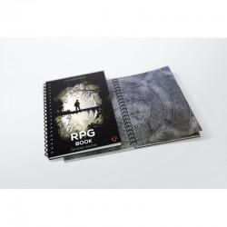 A3 RPG book - square grid