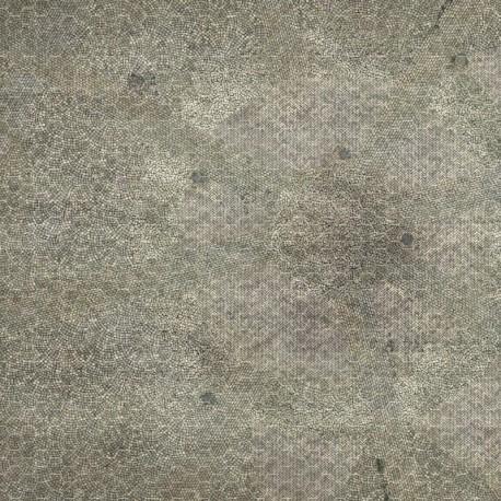 Dry-erase mat - Pavement - hexagonal grid