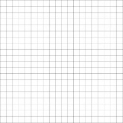 Dry-erase mat - White - square grid