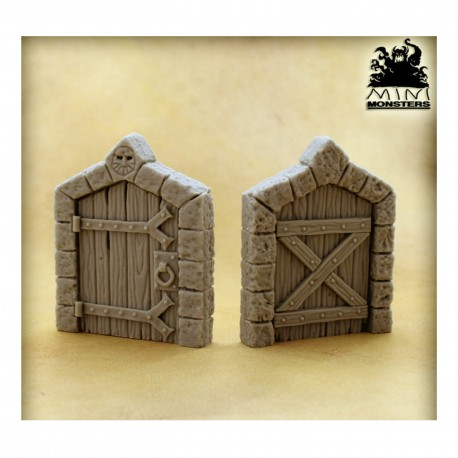 Dwarven Doors Set 1