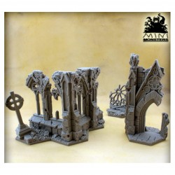 Hexes Terrains - Ruined Cathedral