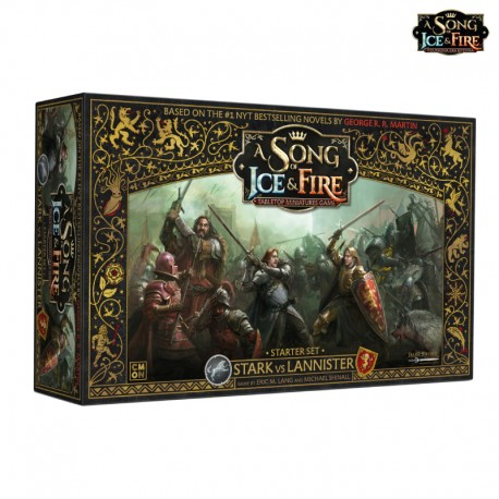 A Song of Ice and Fire - Starter Set - Stark VS Lannister