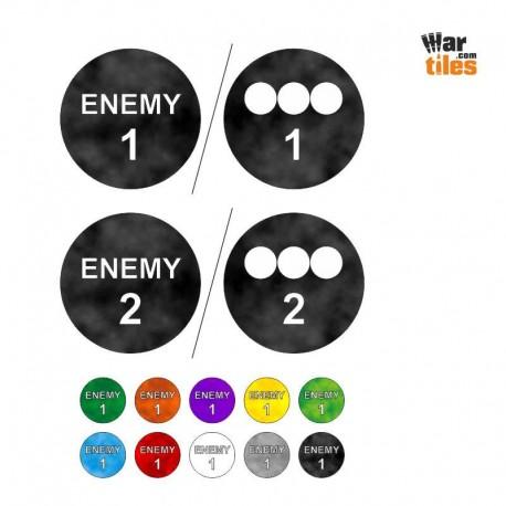 RPG Enemy Huge Token Set (2)