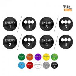 RPG Enemy Large Token Set (4)