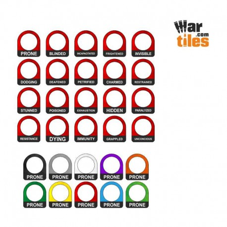 RPG Conditions Ring Set (20)