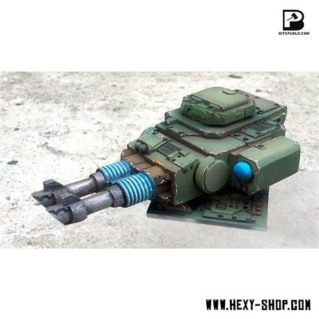 Twin Laser Cannon Tank Turret