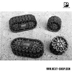 Tank Tracks & Tracked Wheels set