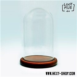 Round Glass Display Case - Medium