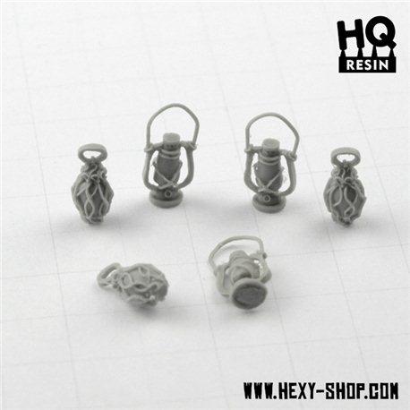 Oil Lamps Set 3 - Basing Kit