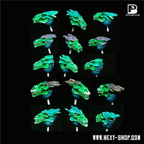 Dragon Skull Helmets (x10)