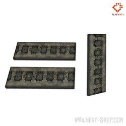 Walls  Set 1 - 2D Foam Terrain