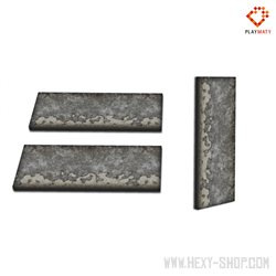 Walls  Set 2 - 2D Foam Terrain