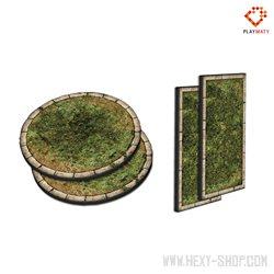 Foam Warmachine/Hordes Zones (Steampunk Grass)