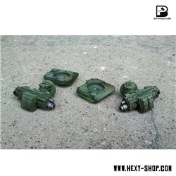 Side Heavy Cannons for Battle Tank