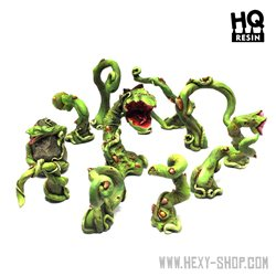 Alien Carnivorous Plants Set