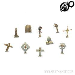 Gravestones Set 1