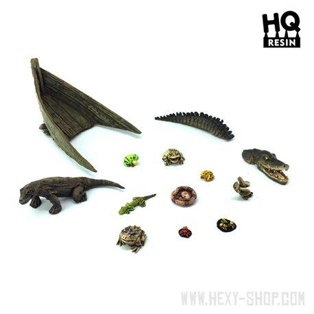 Swamp Creatures Basing Kit