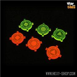 XW Target Lock Tokens (6)
