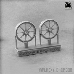Chariot / Cart Wheels Set 1
