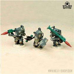 """SSU """"Steel Thunderbolt"""" - Steel Guard Anti-Tank Squad"""
