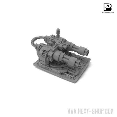 Short-barreled Gatling Cannon