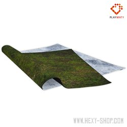 Undergrowth / Ice Fossil – Double-Sided 48″ x 48″ Mat for Battle Games
