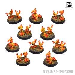 Daemon Fire Terrors (x10)