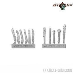 Melee weapons - set 1