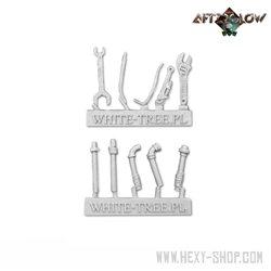 Melee weapons - set 3