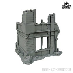 BUILDING CORNER - Ruined City Building Kit