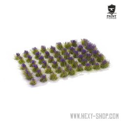 Purple Flowers - 6mm Tuft