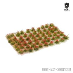 Red Flowers - 6mm Tuft