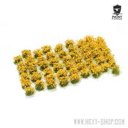 Ochre Flowers - 6mm Tuft