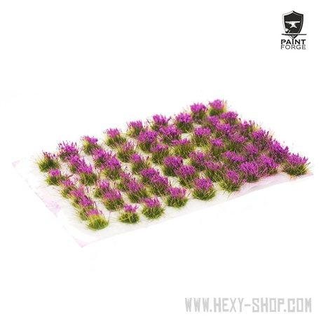 Violet Flowers - 6mm Tuft