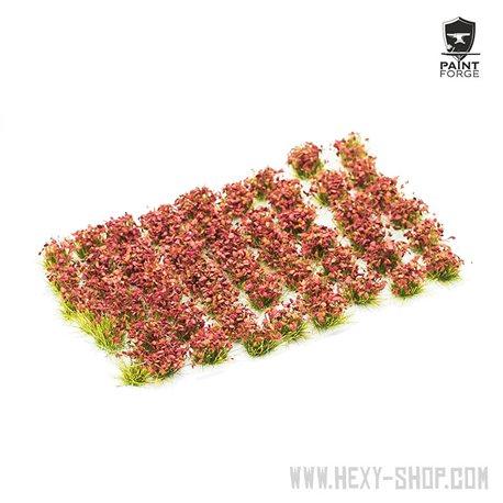 Crimson Red Flowers - 6mm Tuft