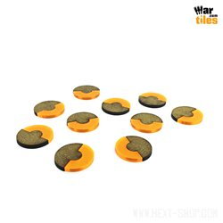 Base 180-Degrees 25mm Orange (10)