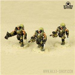 """""""Steel Marines"""" - USMC Heavy Engineer Squad"""