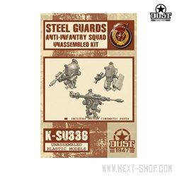 Steel Guard Anti-Infantry Squad Unassembled Kit